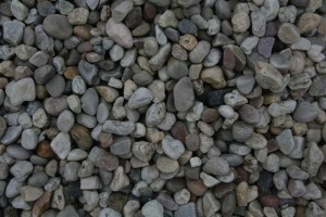 Off White Pebbles 30mm